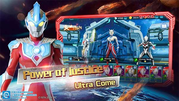 ultraman legend hero mod 1