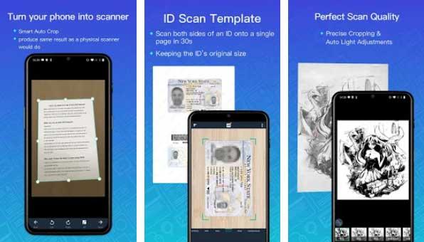 Merubah Image ke PDF dengan CamScanner