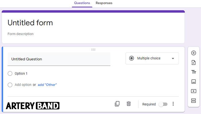 cara membuat google form pertama anda