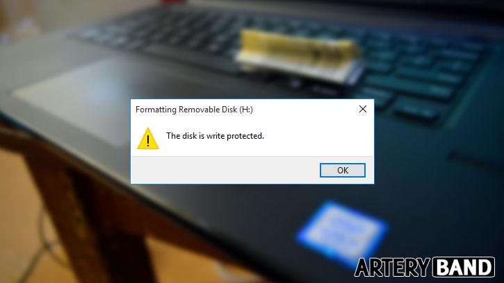 inilah 4 cara mengatasi flashdisk write protected