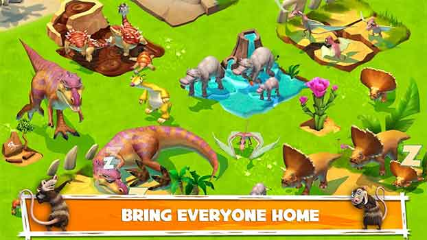 bring everyone home mod ice age adventures