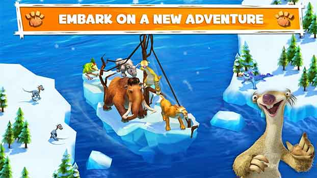 embark on a new ice age adventures