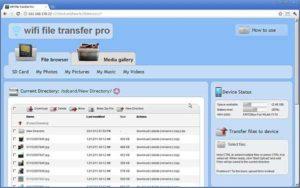 file browser wifi file transfer pro