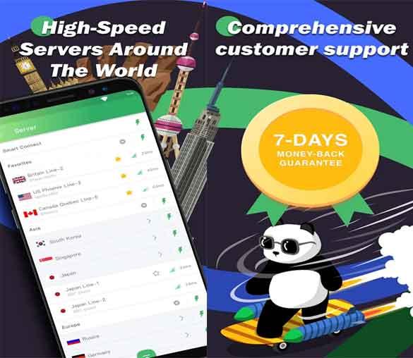 high speed panda vpn