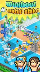 a water slide pool slide story