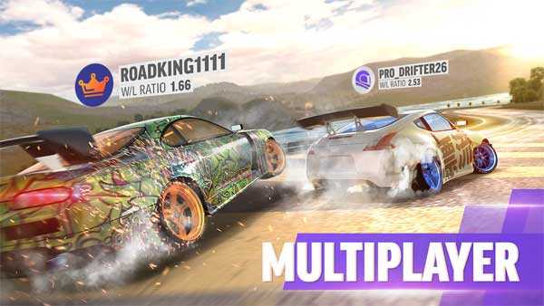 multiplayer in drift max pro