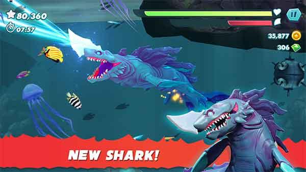 new hungry shark evolution mod