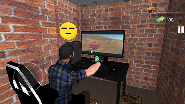 sedang main internet cafe simulator mod
